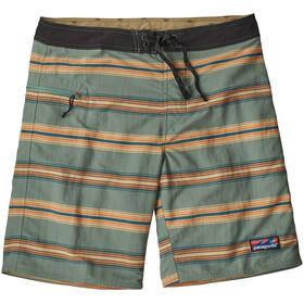 Patagonia Wavefarer Boardshorts Men tarkine stripe/tasmanian teal